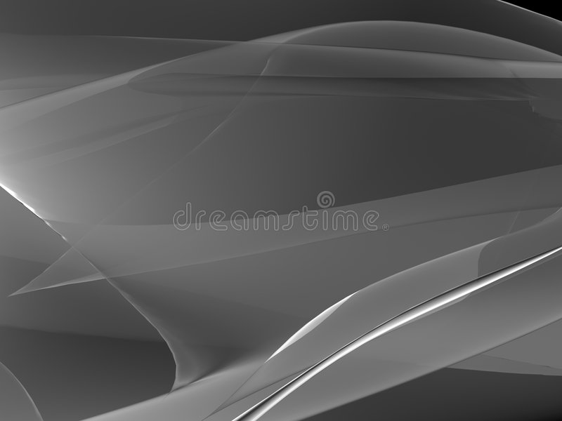 Forma cinzenta abstrata ilustração do vetor
