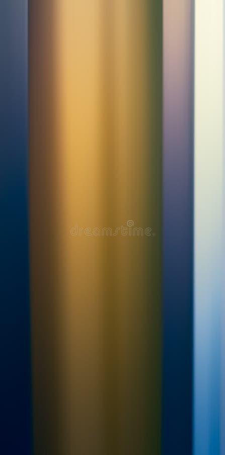 Forma clara dourada abstrata ilustração stock