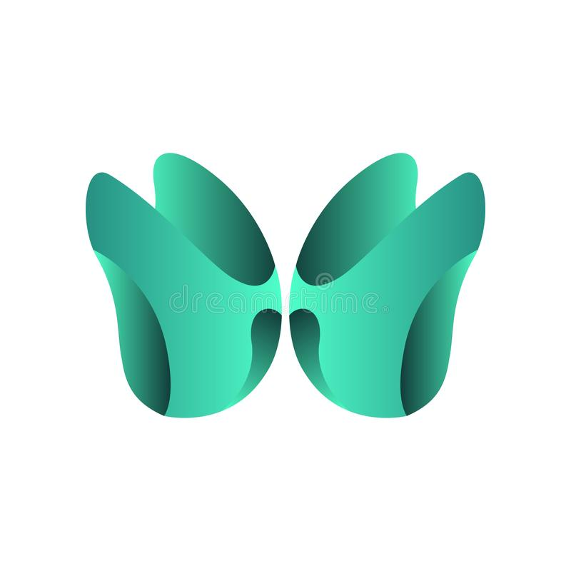 Forma criativa abstrata, elemento do projeto de Collor para o cartaz, bandeira, tampa, cartaz, ilustração do vetor do inseto em u ilustração stock