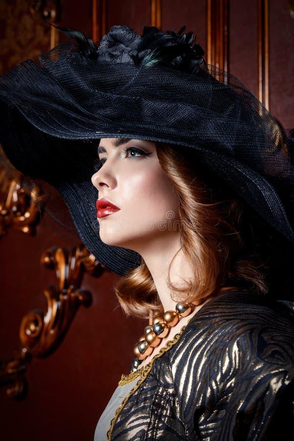 Forma da beleza do vintage fotos de stock royalty free