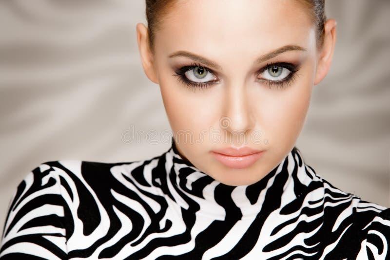 Forma da zebra imagens de stock royalty free