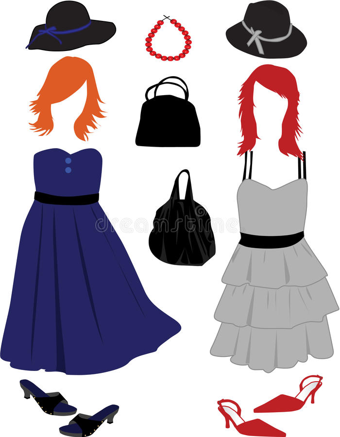 Forma das mulheres ilustração stock