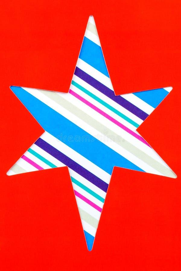 Forma de la estrella del recorte fotos de archivo libres de regalías