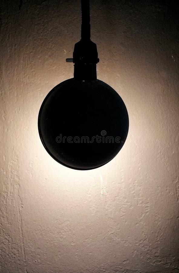 Forma de la lámpara imagen de archivo libre de regalías