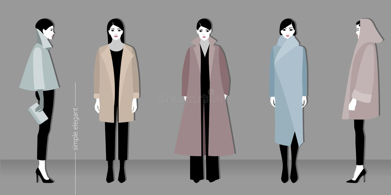 Forma de Minimalistic ilustração stock