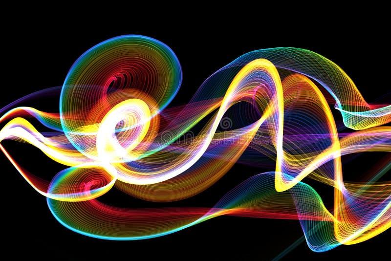 Forma de onda stock de ilustración