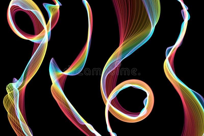 Forma de onda libre illustration