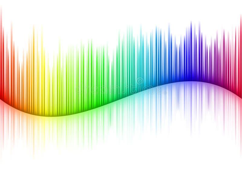 Forma de onda sana stock de ilustración