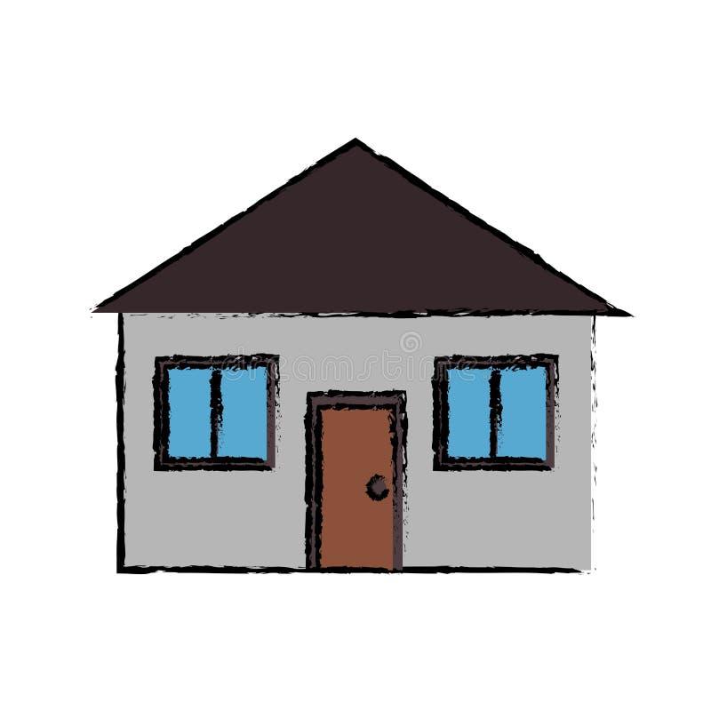 forma de vida de dibujo de la casa de los bienes inmuebles ... - Bienes Inmuebles Dibujos