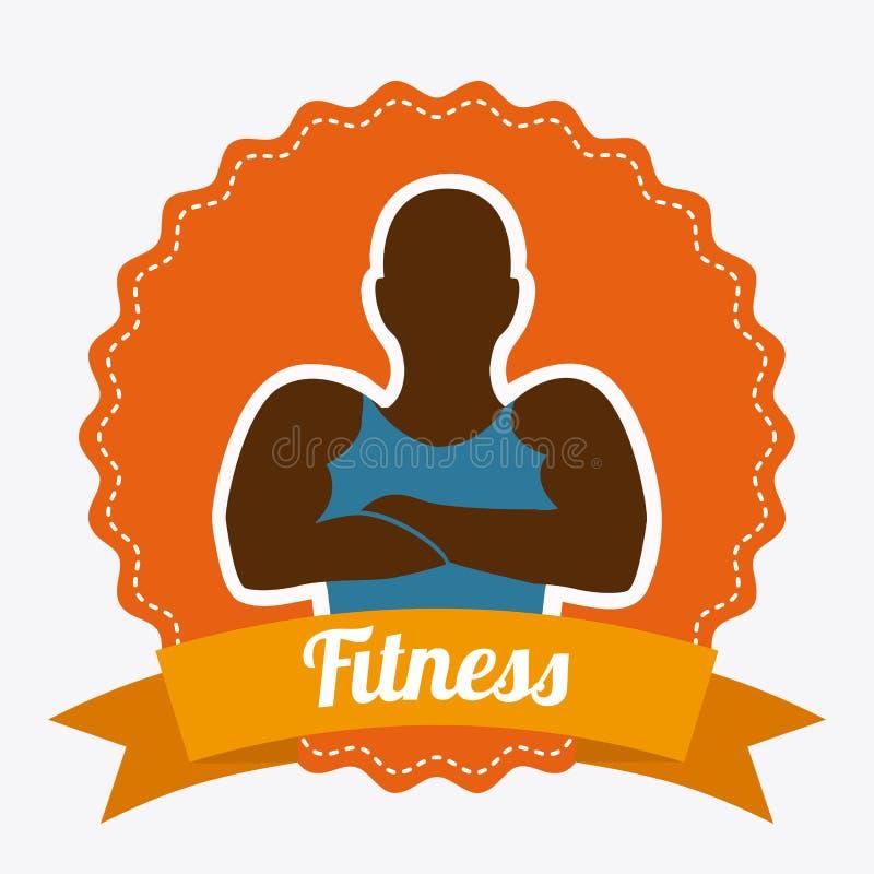 Download Forma de vida sana ilustración del vector. Ilustración de bodybuilding - 42427175