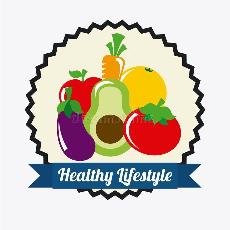 Download Forma de vida sana ilustración del vector. Ilustración de manzana - 42427212