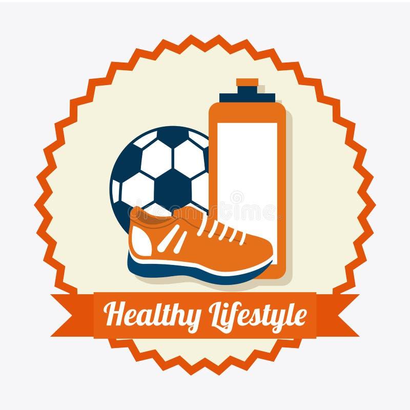 Download Forma de vida sana ilustración del vector. Ilustración de calorías - 42427222