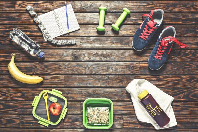 Forma de vida sana, aptitud, deportes, entrenamiento, Zapatillas de deporte, corriendo imagen de archivo libre de regalías