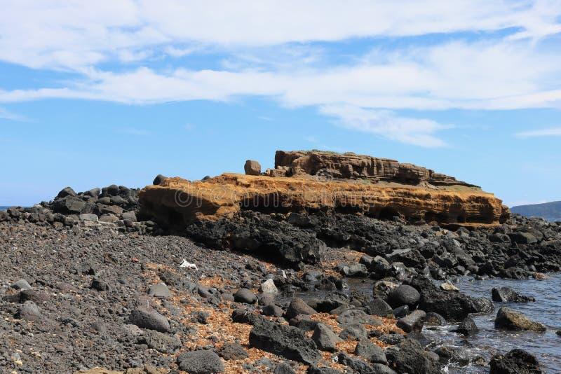 Forma degli strati del suolo Strati di terra fotografie stock libere da diritti