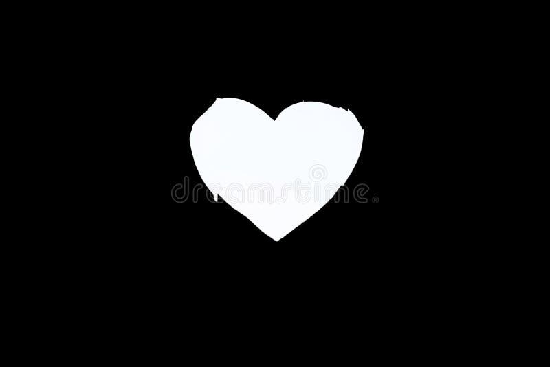 Forma del cuore scolpita in porta di legno fotografia stock libera da diritti