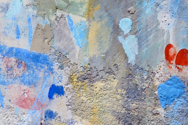 Forma della pittura di spruzzo sulla parete immagine stock libera da diritti