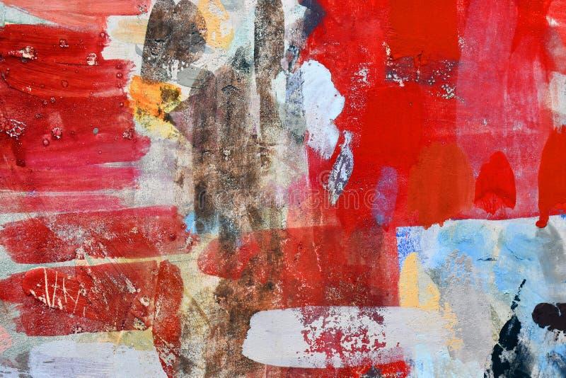 Forma della pittura di spruzzo sulla parete immagini stock libere da diritti