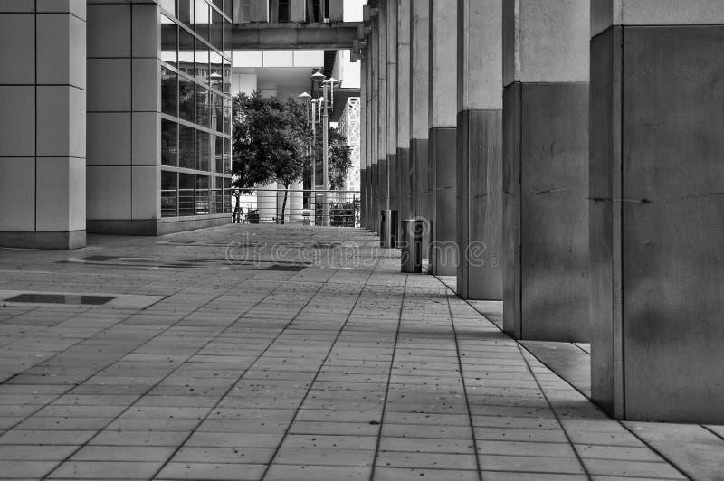 Forma della strada fotografie stock