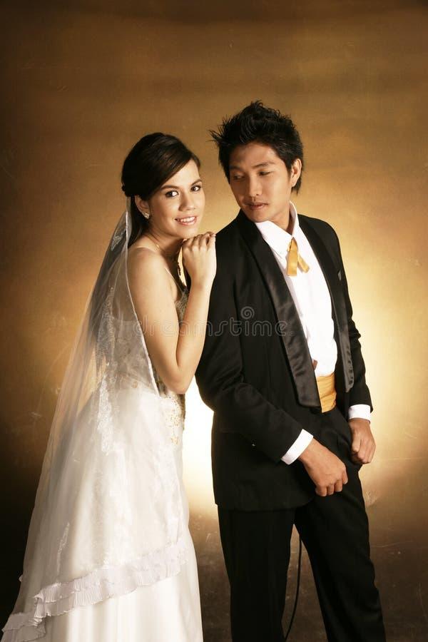 Forma do casamento fotografia de stock