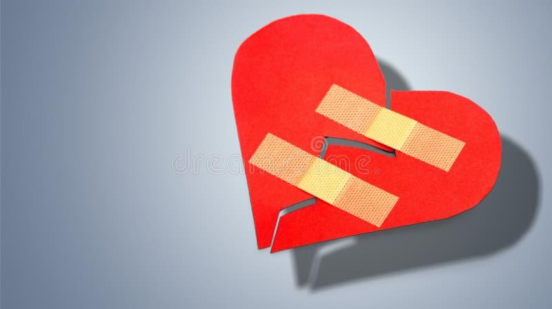 Forma do coração imagens de stock