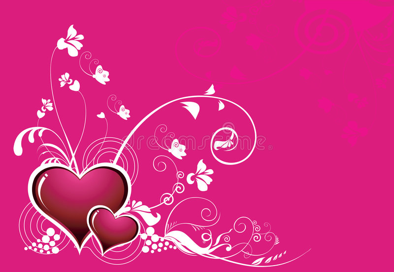 Forma do coração ilustração royalty free