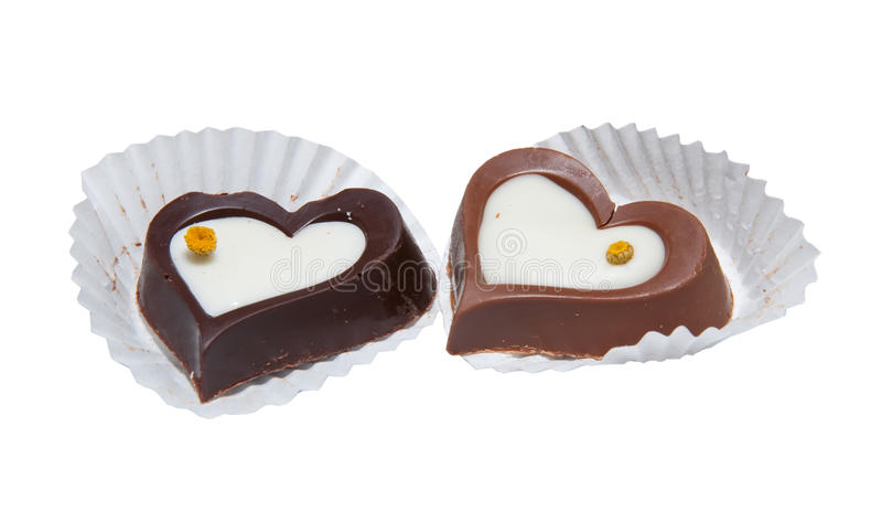 Download Forma do coração dos doces imagem de stock. Imagem de alimento - 16853691