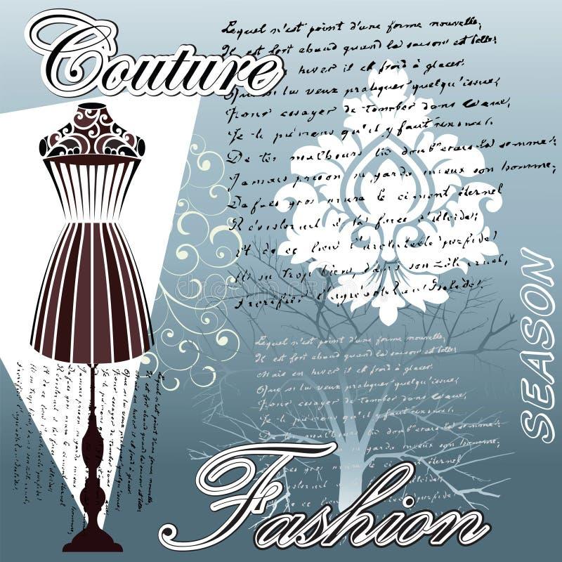Forma do Couture ilustração do vetor