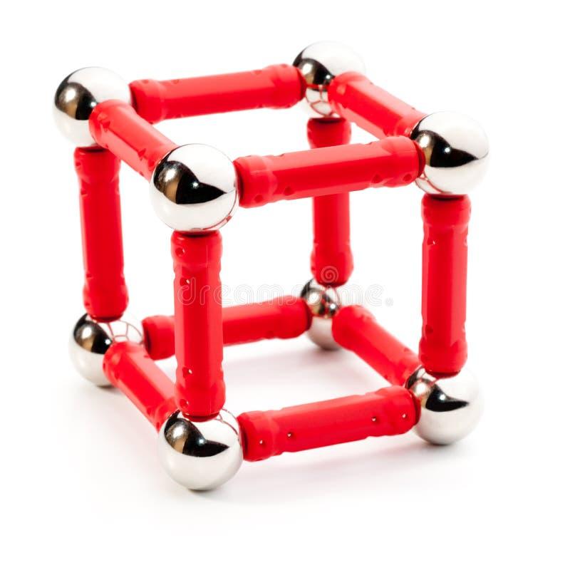 Forma do cubo fotos de stock royalty free