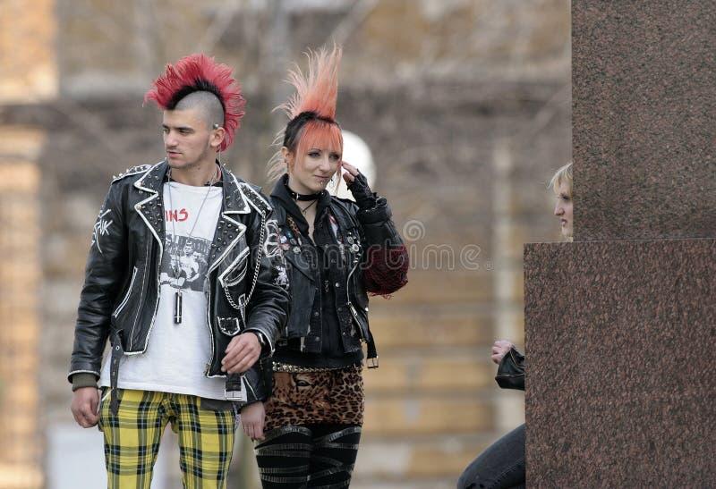 Forma do punk imagem de stock