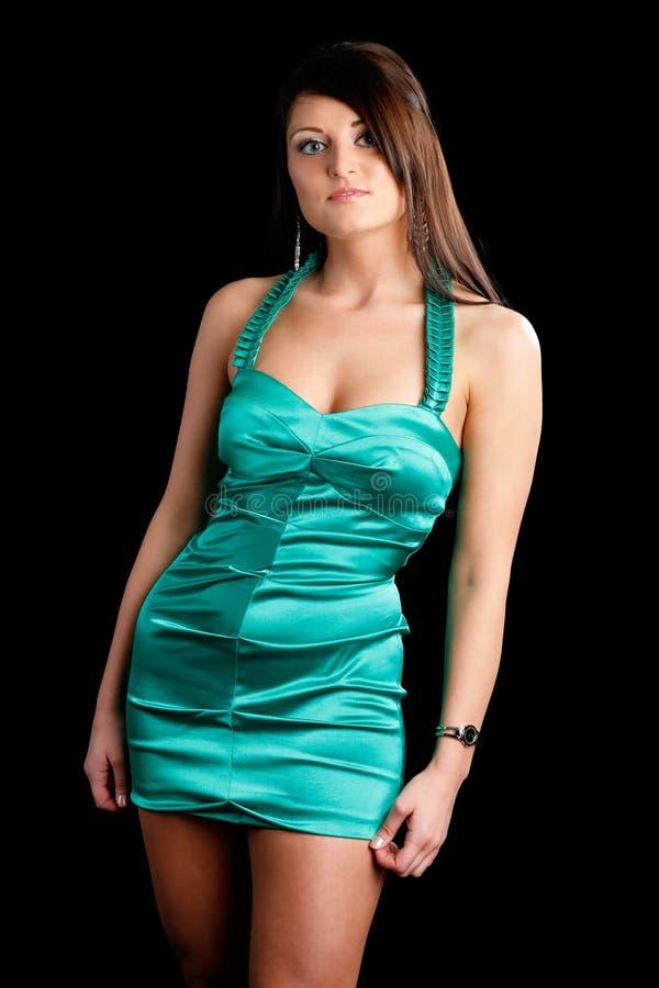 Forma do vestido fotografia de stock