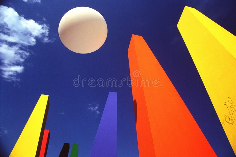 Forma e cor imagens de stock