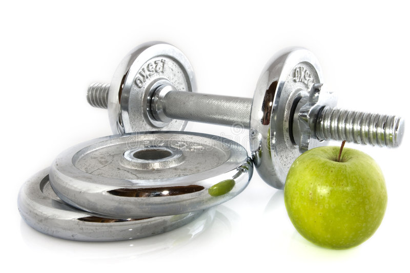 Forma fisica e dieta fotografie stock libere da diritti