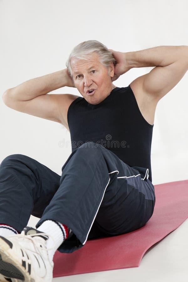 Forma fisica e yoga fotografia stock