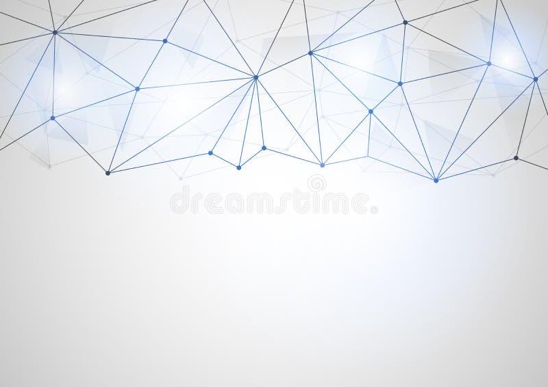 Forma futurista abstracta Generado por ordenador en el fondo blanco ilustración del vector