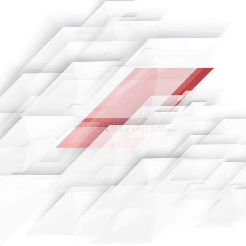 Forma geométrica abstracta del vector de la diagonal gris stock de ilustración
