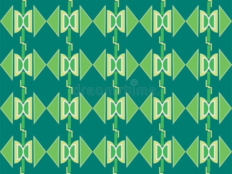 Forma geométrica do padrão étnico tradicional repetitivo ilustração stock