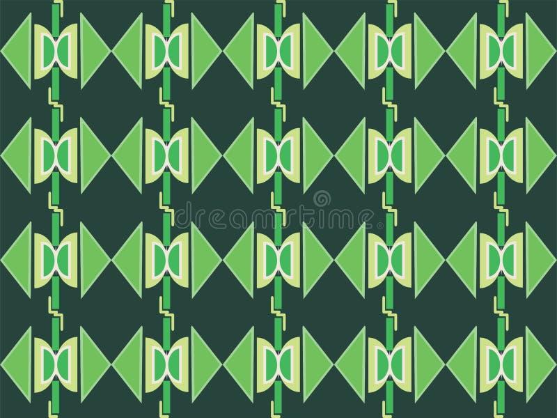 Forma geométrica padrão étnico tradicional repetitivo 95 ilustração royalty free