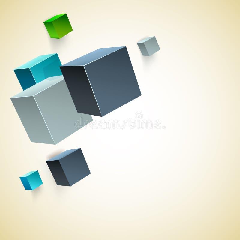 Forma geometrica astratta di vettore dal rombo grigio illustrazione vettoriale