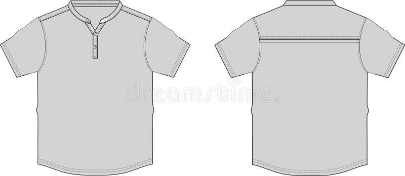 Forma gráfica das ilustrações do esboço do TShirt imagens de stock royalty free