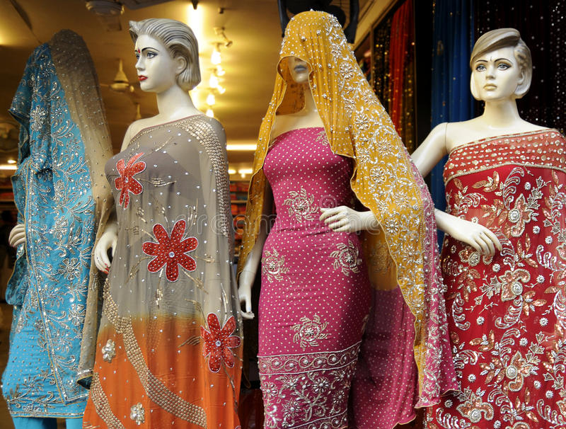 Forma indiana foto de stock royalty free