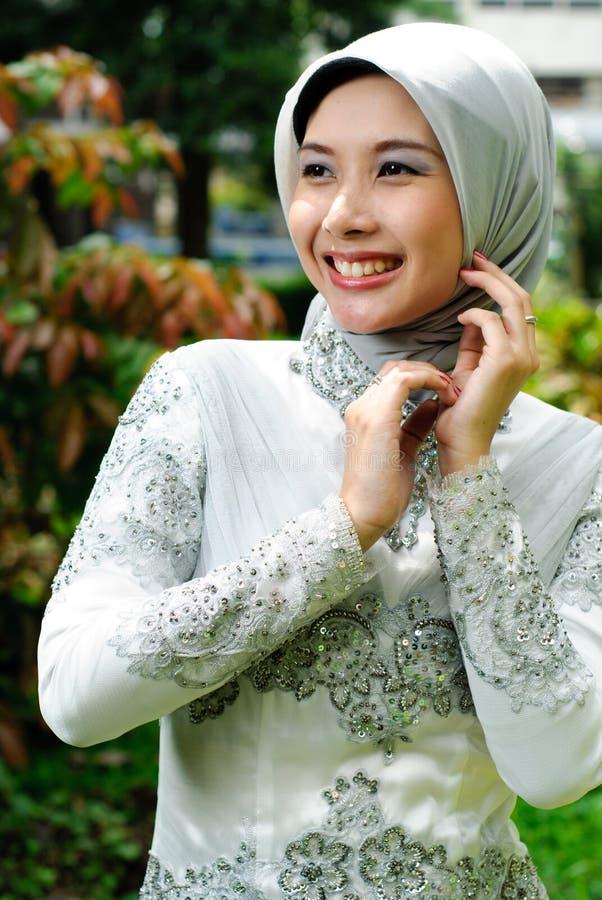 Forma muçulmana foto de stock royalty free