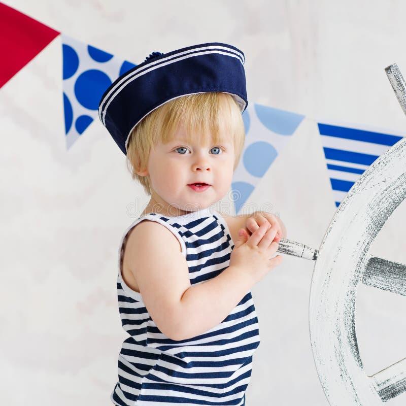 Forma pequena do marinheiro imagem de stock royalty free