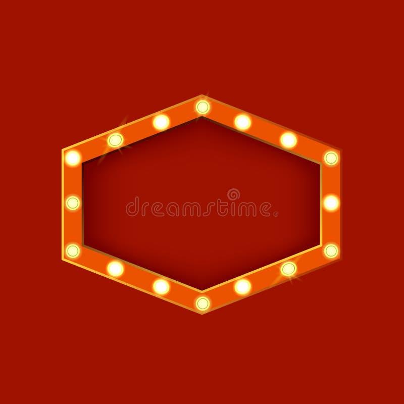 Forma poligonal detallada realista de la muestra que brilla intensamente 3d Vector ilustración del vector