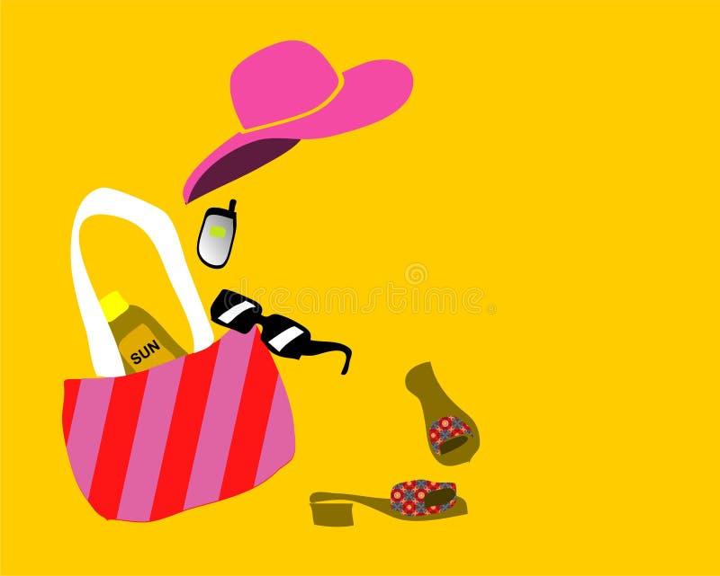 Download Forma/praia ilustração stock. Ilustração de estilo, cor - 529909