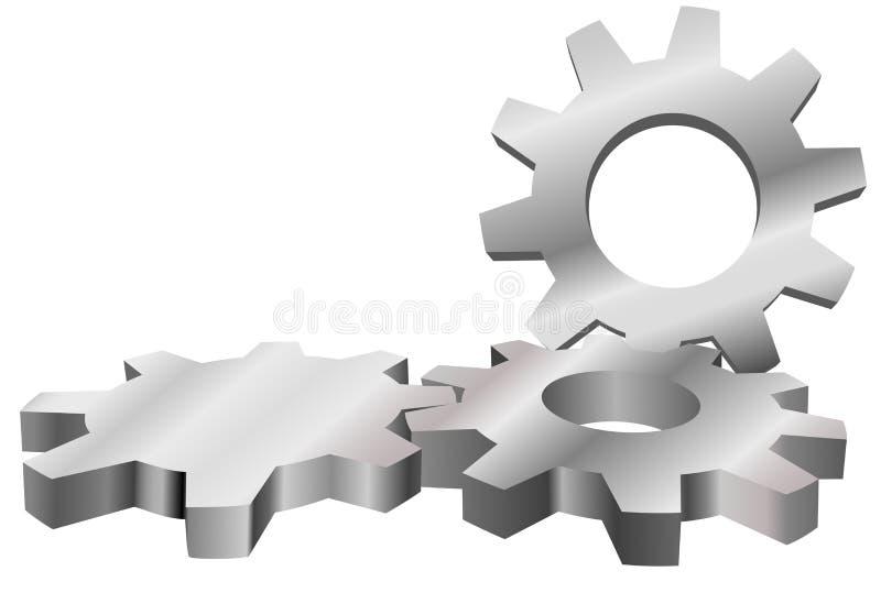 forma tła jest karabinem przemysłową planszę ilustracji