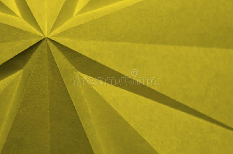Forma transversal abstrata do papel dobrado imagens de stock