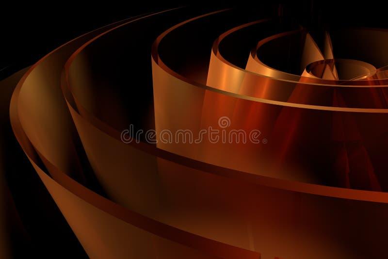 Forma tridimensionale fotografia stock libera da diritti