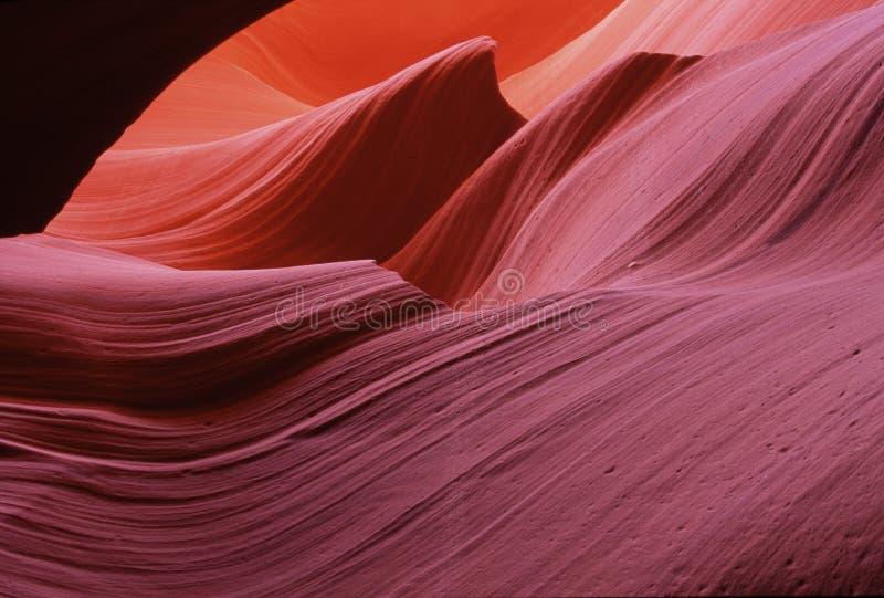 Formación colorida de la piedra arenisca imagen de archivo