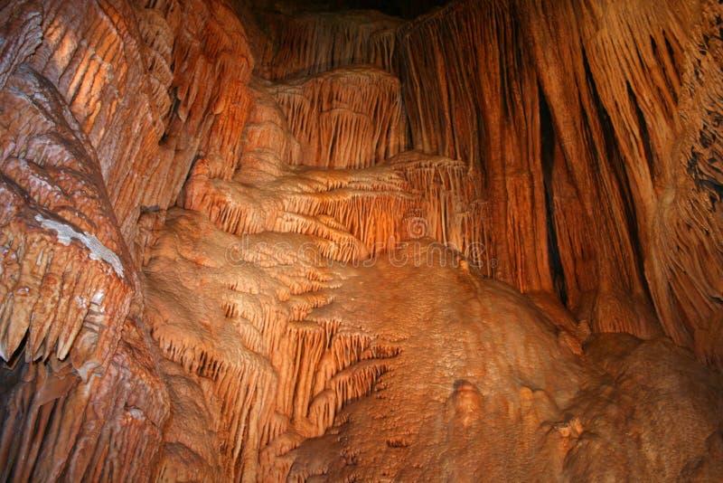 Formación de la cueva foto de archivo