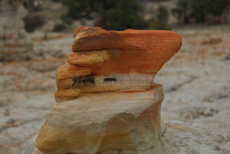 Formación de la piedra arenisca roja imagenes de archivo